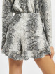 Missguided Jumpsuits Snake Print Frill Detail Play black