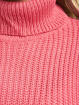 Missguided Pullover Petite Core Roll Neck Crop pink