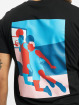 Mister Tee T-Shirt Colored Basketball Player black