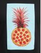 Mister Tee T-Shirt Pizza Pineapple black