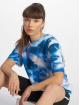 NA-KD T-Shirt Aquarelle Printed blue 0