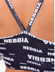 Nebbia Top Recycled Ocean Plastic black