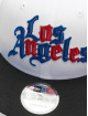 New Era Snapback Cap NBA20 Los Angeles Clippers City Alt EM 9Fifty white
