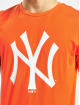 New Era T-Shirt MLB NY Yankees Seasonal Team Logo orange