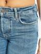 Pieces Slim Fit Jeans pcCara blue