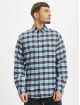 Reell Jeans Shirt Check blue