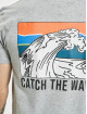 Sublevel T-Shirt Catch The Vibes gray