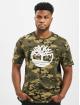 Timberland T-Shirt K-R Aop Camo gray