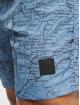 Urban Classics Badeshorts Pattern blue
