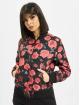 Urban Classics Bomber jacket Roses black