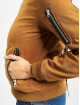 Urban Classics Bomber jacket Ladies Peached brown