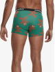 Urban Classics Boxer Short Christmas Fun 3-er Pack green