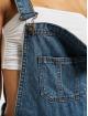 Urban Classics Dungaree Ladies Short blue