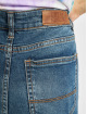 Urban Classics High Waisted Jeans Ladies Skinny High Waist blue