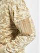 Urban Classics Hoodie Sweat Camo Bomber beige