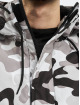 Urban Classics Lightweight Jacket Camo Mix Pull Over black