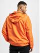 Urban Classics Lightweight Jacket Full Zip Nylon Crepe orange