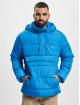 Urban Classics Puffer Jacket Pull Over blue