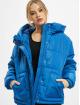 Urban Classics Puffer Jacket Ladies Oversized Hooded blue