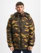 Urban Classics Puffer Jacket Hooded Camo camouflage 2