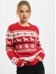 Urban Classics Pullover Ladies Norwegian Christmas red