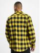 Urban Classics Shirt Checked Flanell black 1