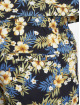 Urban Classics Short Pattern Resort blue 4