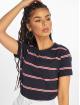 Urban Classics T-Shirt Yarn Dyed Skate Stripe blue