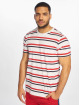 Urban Classics T-Shirt Yarn Dyed Skate Stripe white