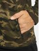Urban Classics Zip Hoodie Interlock camouflage