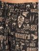 Yakuza Badeshorts Allover Carry gold