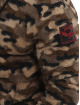 Yakuza Hoodie Red Flag Sherpa camouflage