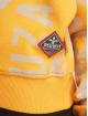 Yakuza Hoodie Allover Funnel yellow 3