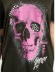 Yakuza T-Shirt Glowing Skull Crew black