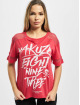 Yakuza T-Shirt Ent Panelling Box Fit red
