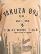 Yakuza T-Shirt Virus V Neck yellow
