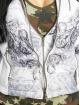 Yakuza Winter Jacket Ornamental Skull white 6