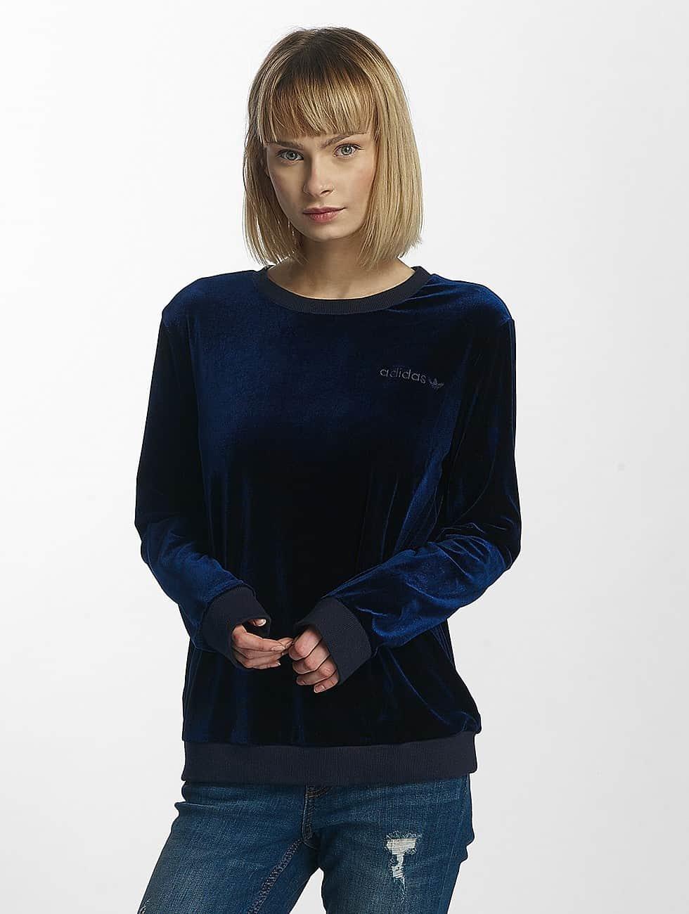 adidas originals Pullover Velvet blue