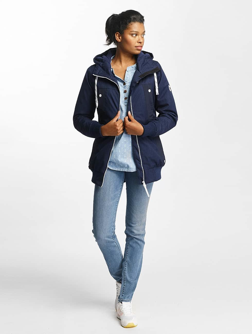 Alife & Kickin Winter Jacket Old Kiddo blue