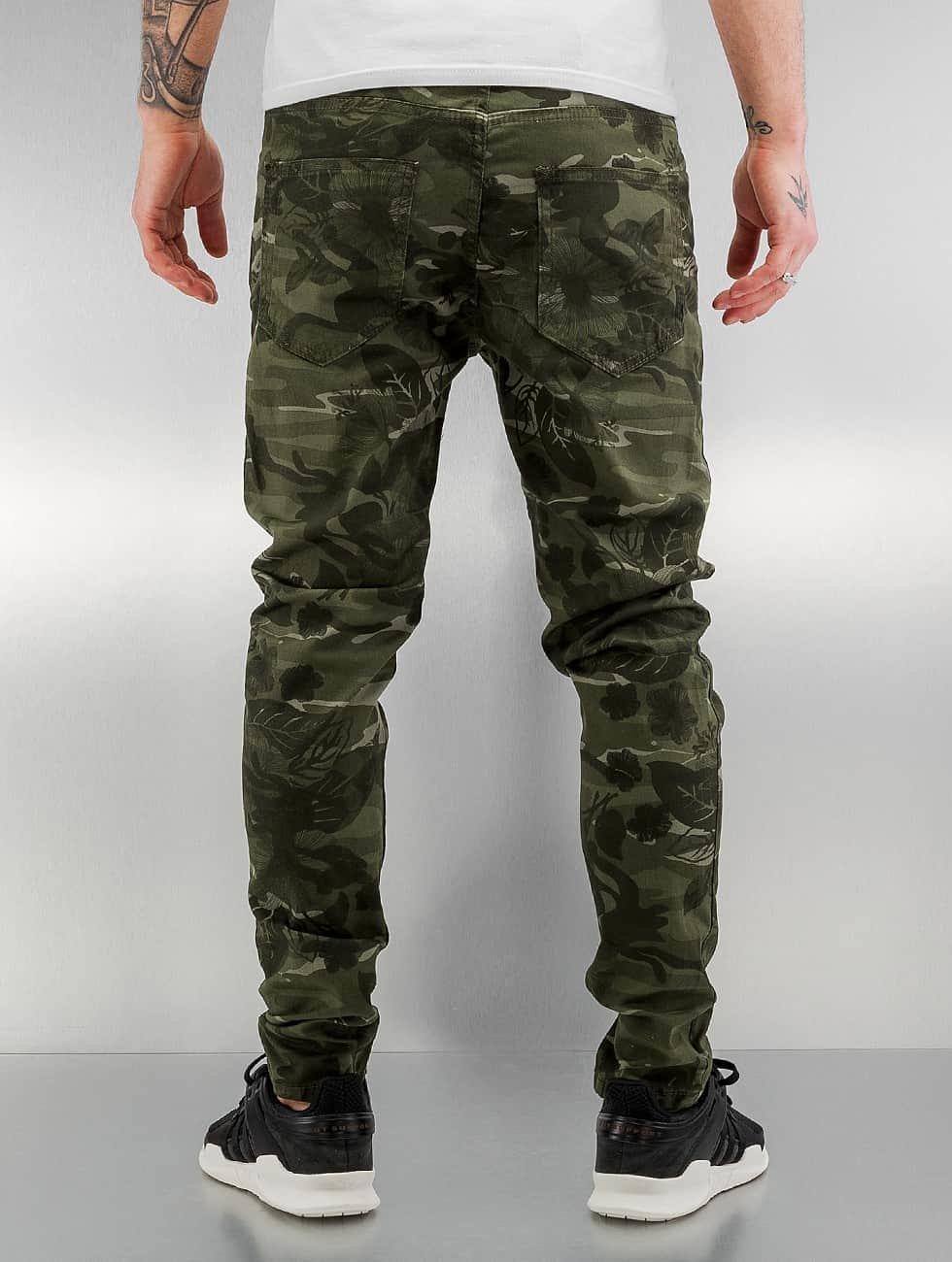 Bangastic Slim Fit Jeans Paul camouflage