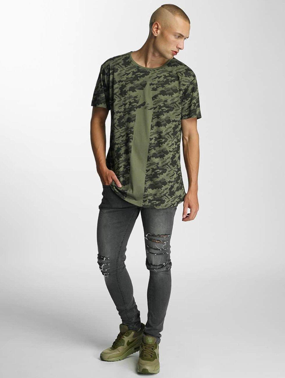 Bangastic T-Shirt Camo olive