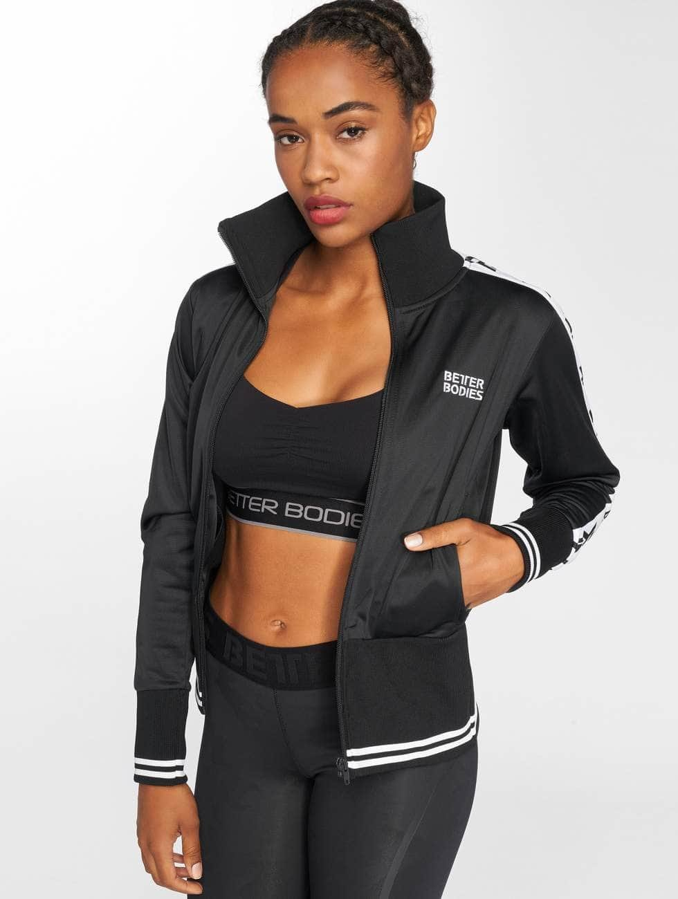 Better Bodies Lightweight Jacket Trinity black