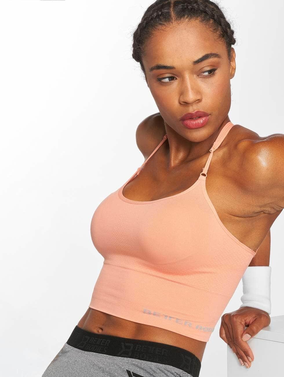 Better Bodies Sports Bra Astoria orange