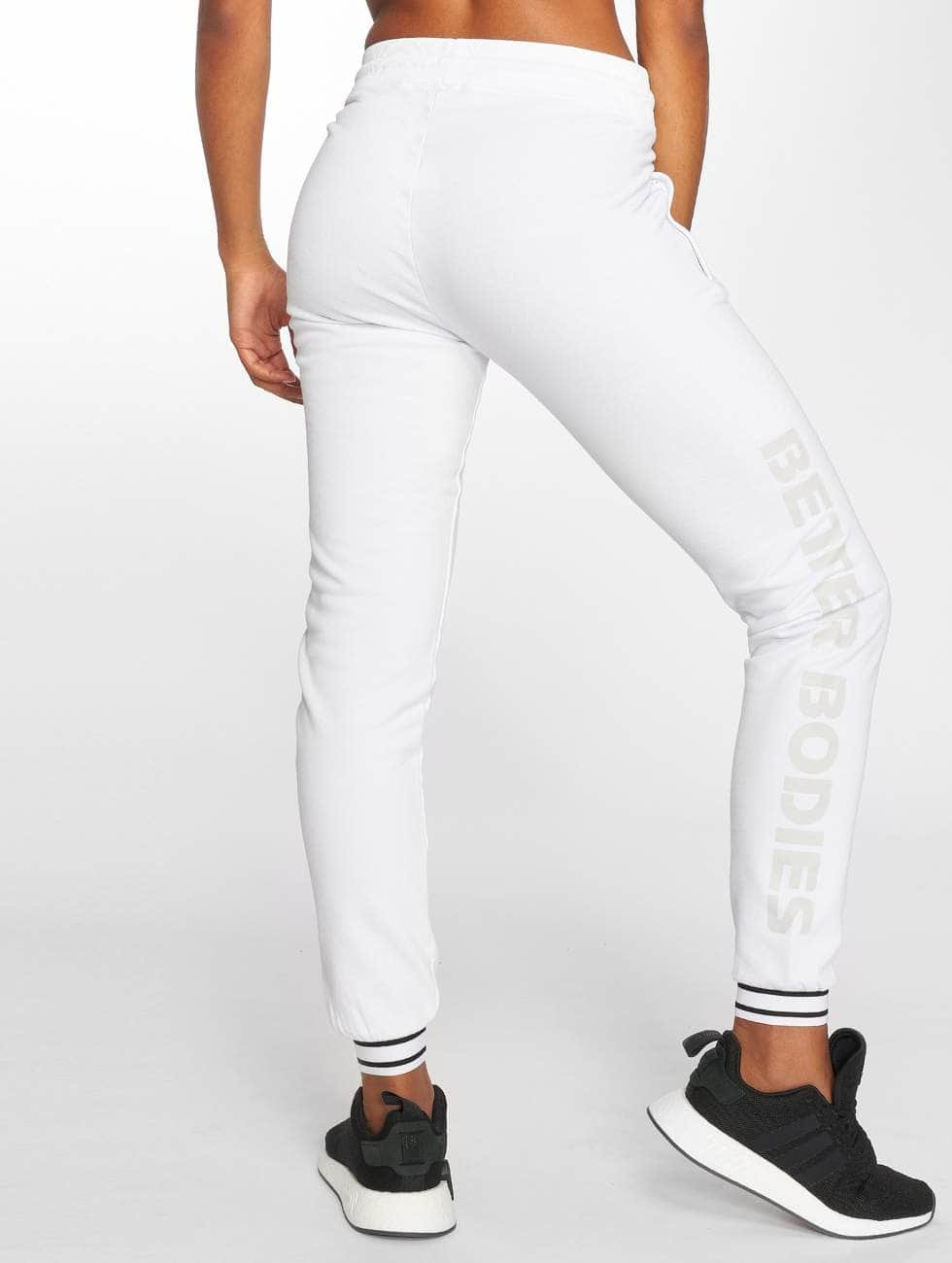 Better Bodies Sweat Pant Madison white