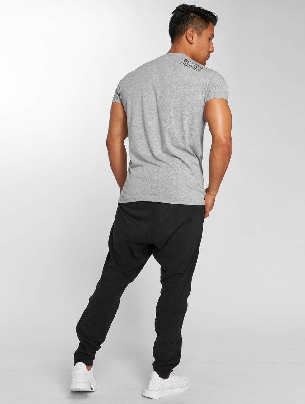 Better Bodies T-Shirt Basic Logo gray