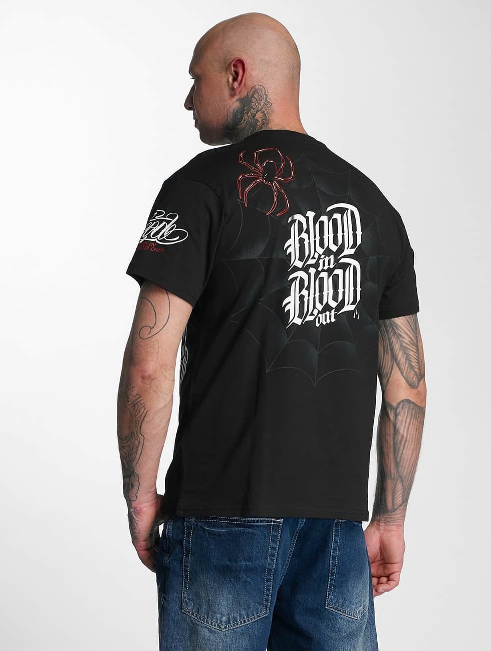 Blood In Blood Out T-Shirt Out Ranio Negro black