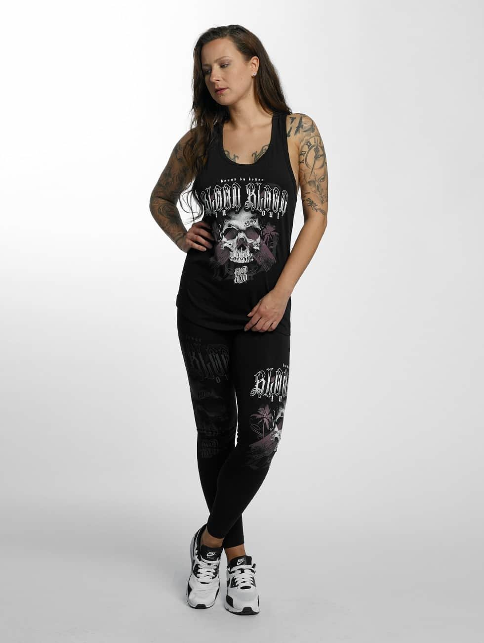 Blood In Blood Out Tank Tops Black Honor black