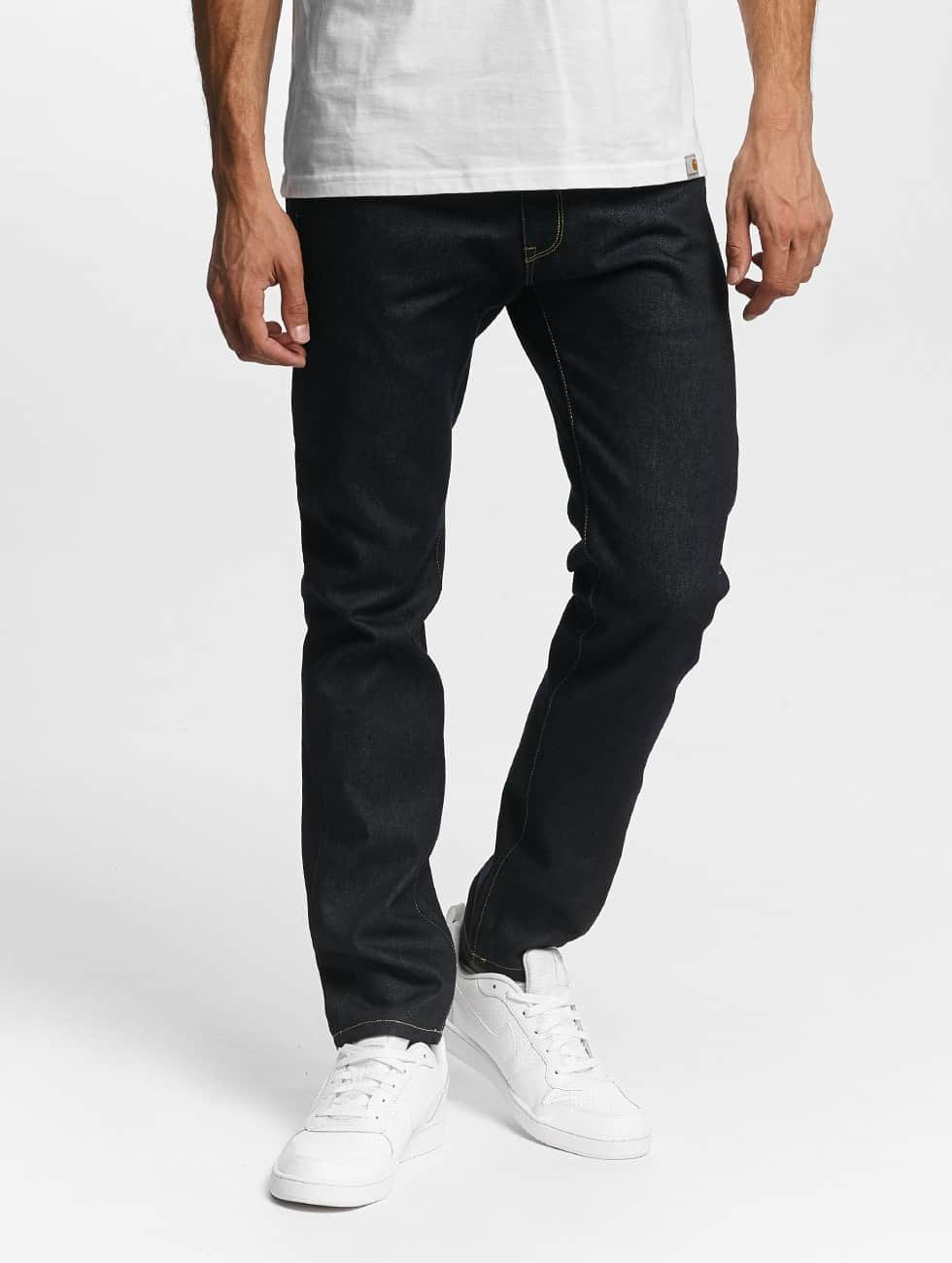 Carhartt WIP Straight Fit Jeans Madera blue