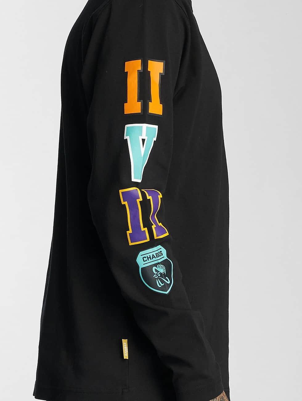 CHABOS IIVII Longsleeve College black