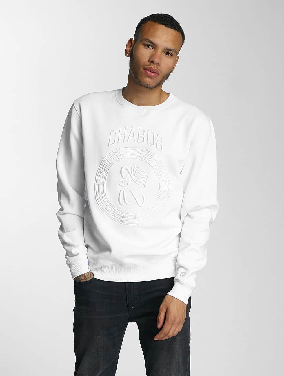 CHABOS IIVII Pullover Palazzo white
